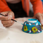 painting a bowl
