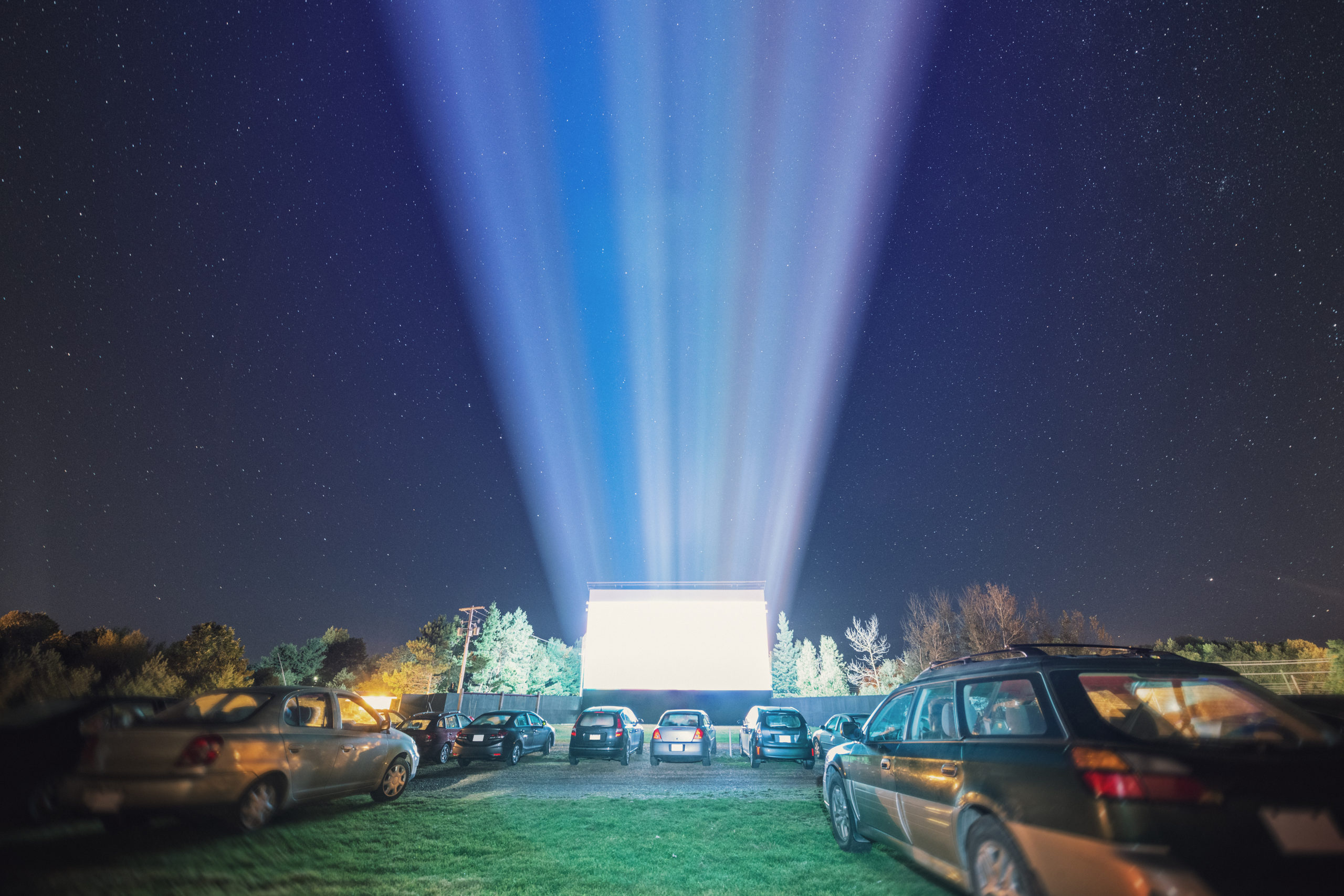 drive-in theatre near Germantown